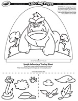 Jungle Adventure coloring page