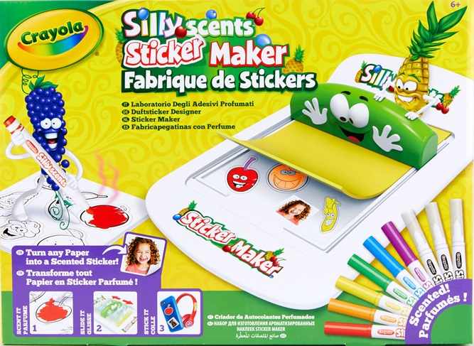 Sticker Maker Silly Scents | crayola be